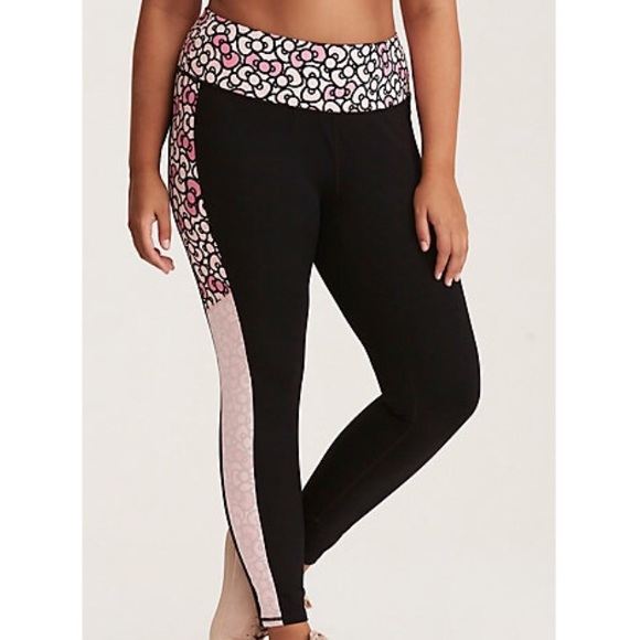 b86392f4a torrid Pants | Hello Kitty Pink Bow Active Leggings | Poshmark
